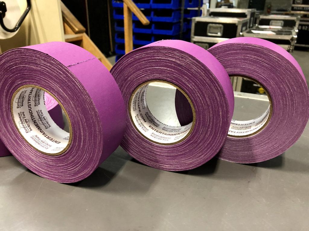 eit gaffer tape purple