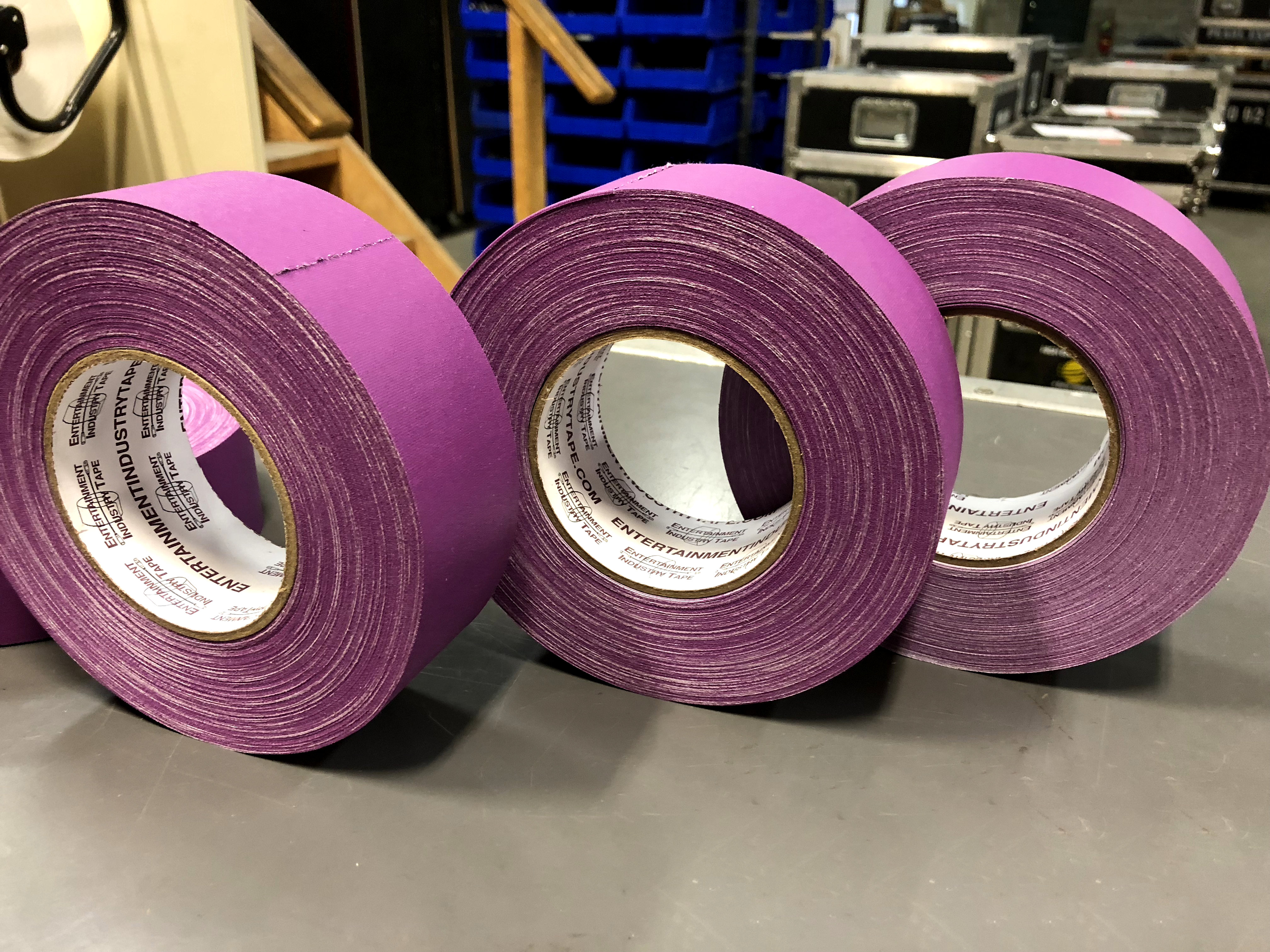 Introducing EIT Purple Gaffer Tape