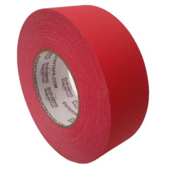 Entertainment Industry Tape Red Gaffer Tape.