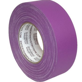 Entertainment Industry Tape Purple Gaffer Tape.