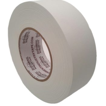 Entertainment Industry Tape White Gaffer Tape.