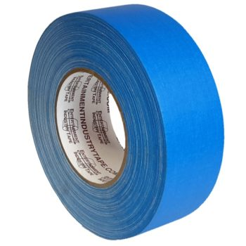 Entertainment Industry Tape Electric Blue Gaffer Tape.