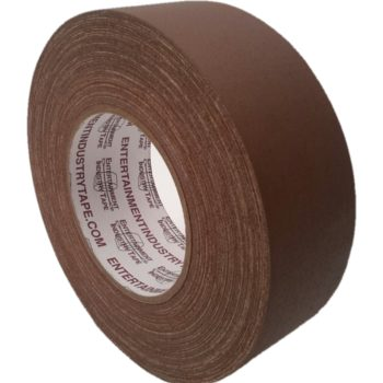 Entertainment Industry Tape Brown Gaffer Tape.