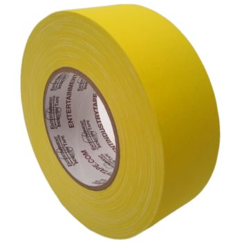 Entertainment Industry Tape Yellow Gaffer Tape.