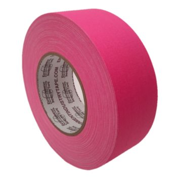 Entertainment Industry Tape Fluorescent Pink Gaffer Tape.