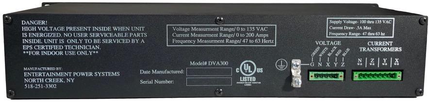 backside view of EPS SmartView Meter