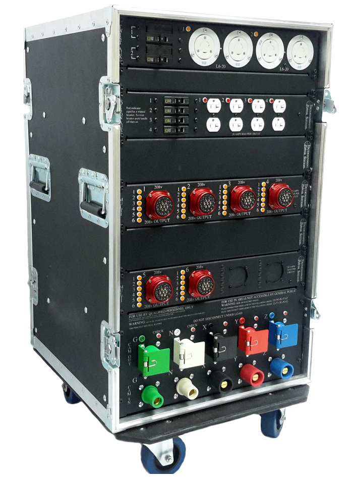 Entertainment Power Systems Portable Power Distribution Rack 2-000-900-0274.