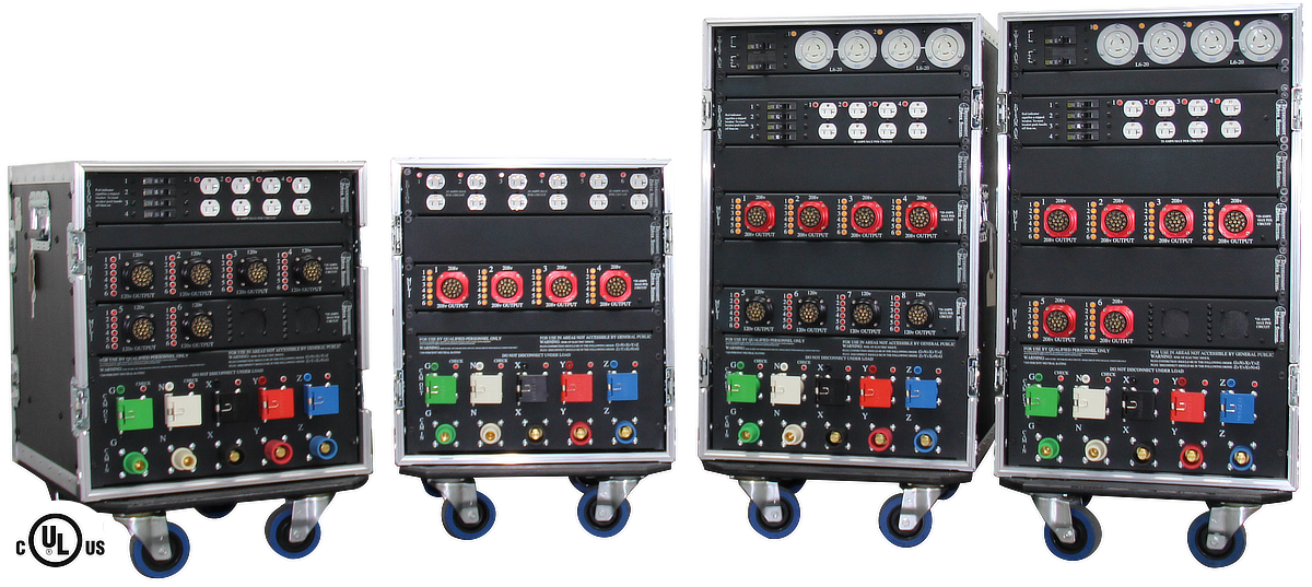 Entertainment Power Systems portable power distribution family.