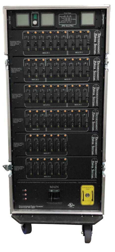 EPS Rack for Glow Motion Technologies - Back